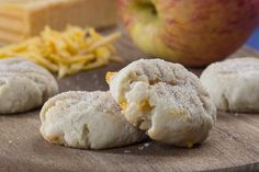 Here's a cookie that brings together that great American combination of apples and Cheddar cheese. You'll definitely want to include All American Cookies on the menu for your next cookout!