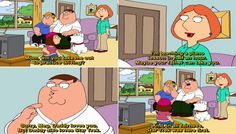 Quotes from Family Guy Tv Series Family Guy Tv Show, Family Guy Stewie, Parks And Rec Quotes, Tv Show Quotes, Pink Floyd Quotes, Love My Family Quotes, Sunny Quotes, Peter Griffin, Lois Griffin