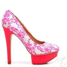Damske ruzove lodicky Gaetana #pumps #shoes