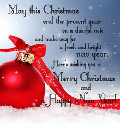 May this Christmas end the present year on a cheerful note... christmas christmas quote happy new year christmas poem christmas meaning