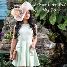 b0ba1235e9c 201+ Beautiful Kentucky Derby Hats for Women 2018