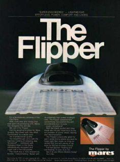 Mares Flipper Ad
