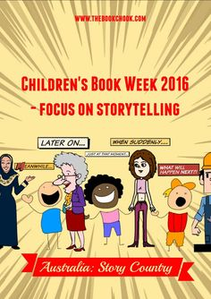 The Book Chook: Children's Book Week 2016 - Focus on Storytelling Creative Activities For Kids, Library Activities, The Secret Book, The Book, Children's Book Week, Writing A Book Review, Reading Themes, Teacher Librarian, Balanced Literacy