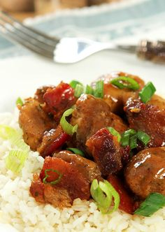 Maple Bourbon Chicken with Bacon | http://www.creative-culinary.com/maple-bourbon-chicken-with-bacon/
