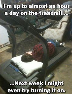 funny working out picture | funny-machine-gym-sleeping-man