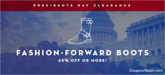 6PM President's Day Clearance – Save 65% or More on Fashion-Forward Boots!