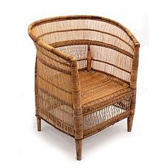 Handwoven Malawi Bucket Chair from our online Bazaar. #serenaandlily