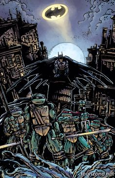 TMNT Batman - Kevin Eastman
