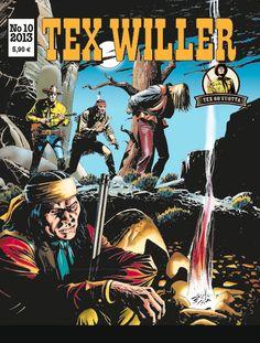 Tex Willer -lehti no 10/2013. #egmont #sarjakuva #sarjis #sarjakuvalehti