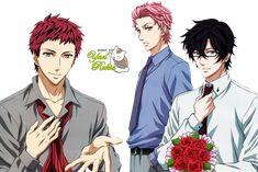 Render- Hirato,Akari y Tsukitachi by YaelRukia.deviantart.com on @deviantART