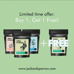 Limited Time Offer!  Jack & Sparrow Products from New Zealand #promotion #discount #special #greens #wheatgrass #barleygrass #greens #powder #chlorella #spirulina #100% #organic #askdrken #bewhatyoueat @jackandsparrowhk