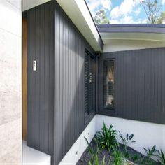 Weathergroove smooth Zinc Cladding, Wooden Cladding, External Cladding, House Cladding, Facade House, Cladding Ideas, House Paint Exterior, Exterior Paint Colors, Exterior House Colors