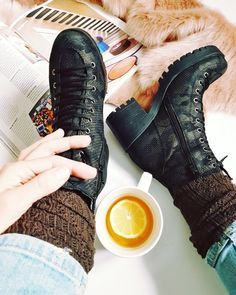 Animal printed ankle boots
