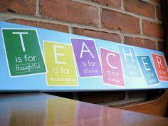 teacher signs | The Very Busy Kindergarten: Cute Idea for Teacher Appreciation Day