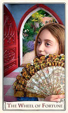 Wheel of Fortune - Alice Tarot
