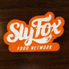 Sly Fox Food Network Fox Food, 21st Century Fox, Food Network Recipes, Logos, Logo, Legos