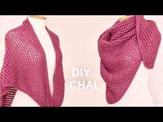 Chal corazón con abanicos de puntos puff tejido a crochet - Tejiendo Perú - YouTube
