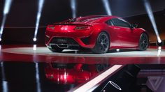The hybrid mid-engine NSX succeeds the legendary first-generation model, a hand-built, all-aluminum exotic that lasted in Honda's stable for a full 15 years: http://theverge.com/e/7295804