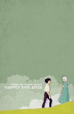 Posters: Howl's Moving Castle by Casey Webb, via Behance