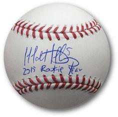 Matt Duffy Hand Signed Autographed MLB Baseball Giants MLB 2015 ROY JSA Stciker