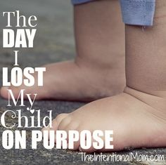 Has your child ever been lost? Does your child know how to avoid becoming lost? Do you know how to avoid this as a parent? Read how this mom of 7 teaches her children to LISTEN and OBEY in public!