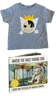 Handmade Wild Thing tee for kids