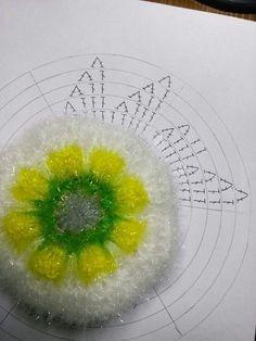 튤립 수세미 (도안첨부) : 네이버 블로그 Crochet Scrubbies, Background Powerpoint, Crochet Doilies, Bubbles, My Favorite Things, Knitting, Blog, Handmade, Crafts