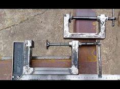 Welding Works, Diy Welding, Welding Table, Metal Working Tools, Metal Tools, Metal Projects, Welding Projects, Homemade Tools, Diy Tools