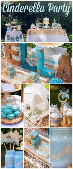 You won't believe this stunning Cinderella party! See more party ideas at CatchMyParty.com!