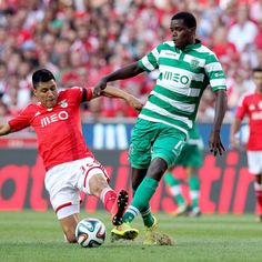 William Carvalho v Benfica