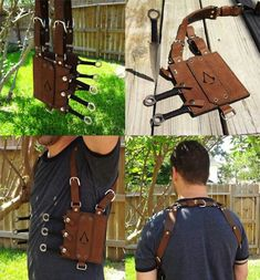 Assassin knife sheath