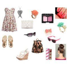 """""""Summer Dates"""" by unarmedlove on Polyvore"""