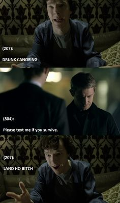 Day 15: Favourite Sherlock FanFic - A Finger Slip. Teenlock. John accidentally texts Sherlock and they wind up becoming friends through texts. Note: This is not an actual line from the story.