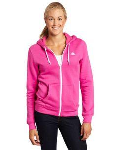 adidas Women's Full-Zip Fleece Hoodie $36.68 - $40.00