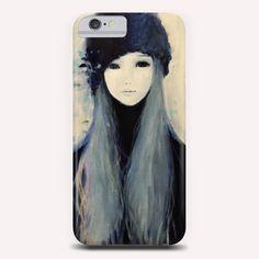 """Blue 18"" Phone Case by Ai Natori on Artsider - http://www.artsider.com/works/23998-blue-18_phone-cases"