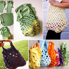 T-Shirt Produce Bags