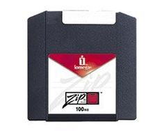 Iomega 100MB Zip Disk 1 Pack - PC Formated by Iomega. $6.94. Iomega 100MB Zip Disks are durable, portable and secure. They can be password protected. This disk is formatted for use with with PC's but can also be reformatted to use with Macs. They can be used interchangeably with 100MB and 250MB Iomega Zip Drives. They are read-only on Iomega 750MB Zip Drives.