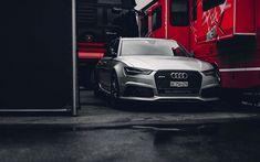 Télécharger fonds d'écran Audi RS6 Avant, wagens, 2018 voitures, tuning, rs6 avant, les voitures allemandes, Audi