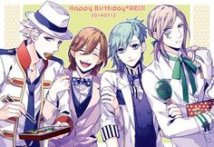 Just noticed each of them are wearing one of Reiji's outfits X3