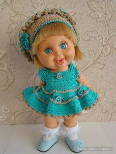 А я всё вяжу, вяжу ... наряды для кукол Gallob Baby Face / Одежда и обувь для кукол - своими руками и не только / Бэйбики. Куклы фото. Одежда для кукол