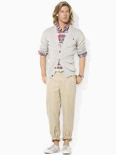 Pima Cotton V-Neck Cardigan - Polo Ralph Lauren Cardigan & Full-Zip - RalphLauren.com