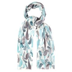 Buy White Stuff Flamenco Parrot Scarf, Off White Online at johnlewis.com