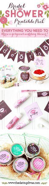 Bridal Shower Printable Pack