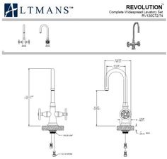Altmans-RV130-Revolution-Single-Hole-Bar-Prep-Faucet-Distressed-Iron