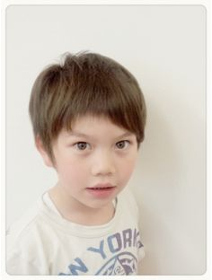 ローリーポーリー(Roly Poly) ショート Boy Hairstyles, Kid Hair, Children, Boys, Face, Hairstyles For Boys, Young Children, Baby Boys, Kids