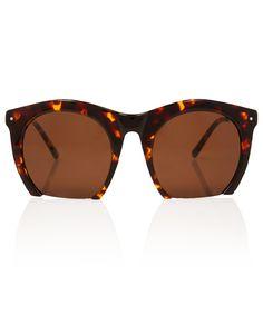 2f6bdb33924 Tortoiseshell The Foundry Sunglasses by Grey Ant Four Eyes