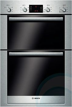 Buy Bosch Classixx Built-Under Double Electric Oven, Brushed Steel from our Built in Ovens range at John Lewis & Partners. Built Under Double Oven, Oven Diy, Electric Wall Oven, Stainless Steel Oven, Built In Ovens, Oven Range, Wire Shelving, Interior Lighting, Store