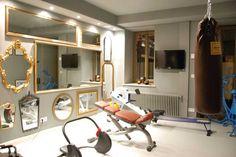 Fitnessraum im Hotel Lindenberg
