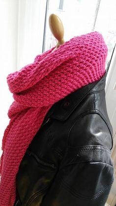 grand chèche au crochet