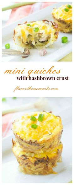 mini-quiches-with-hashbrown-crust-collage1 | flavorthemoments.com